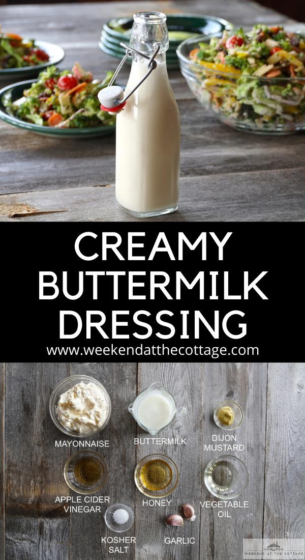 Creamy Buttermilk Dressing