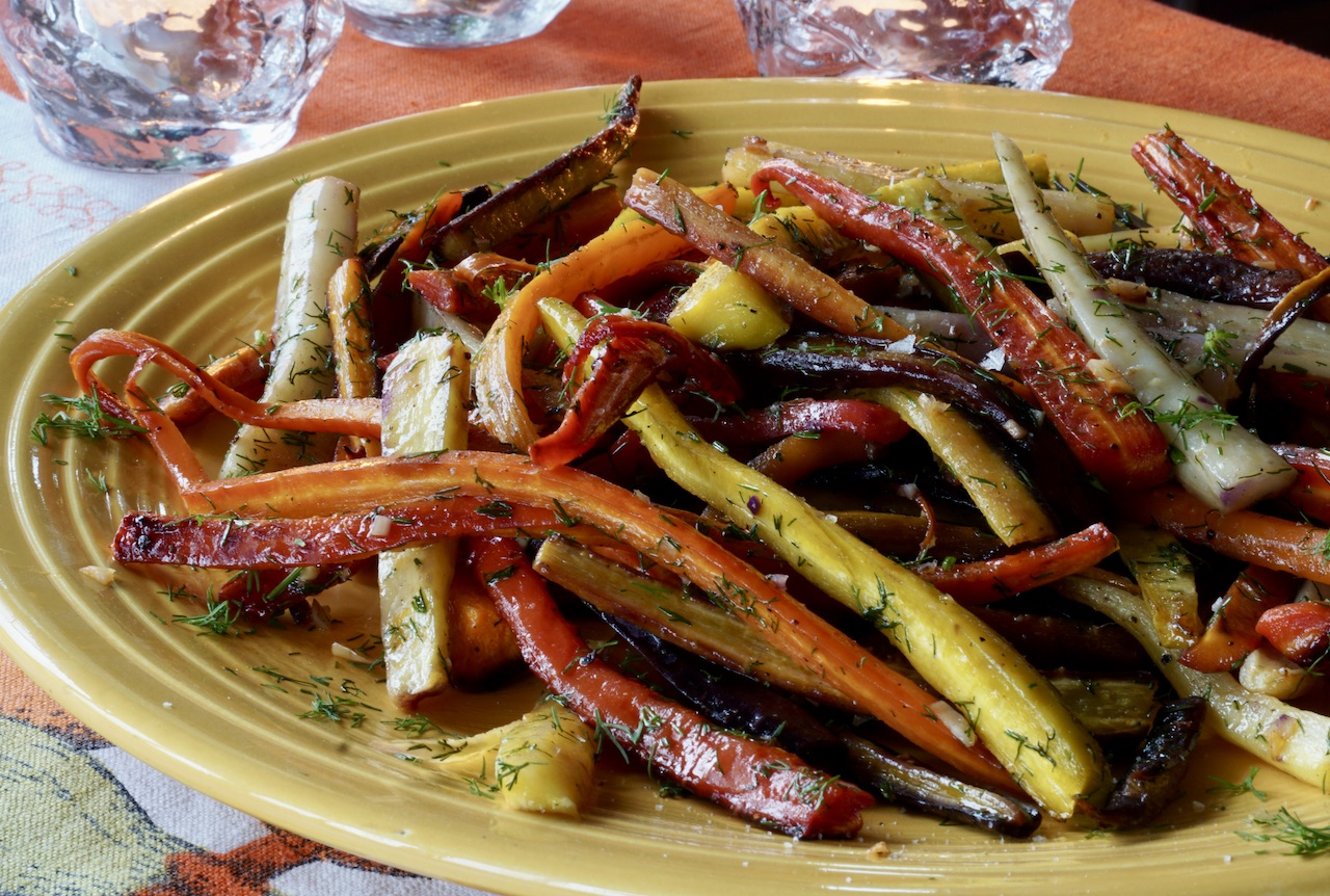 Honey Garlic Carrots
