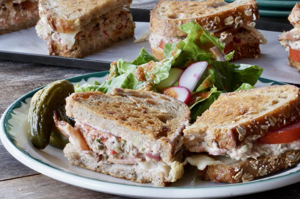 Grilled Tuna Melts