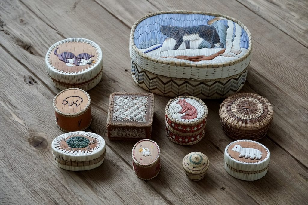 Porcupine Quill Boxes