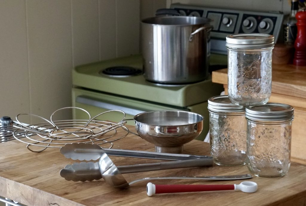 Home canning tools