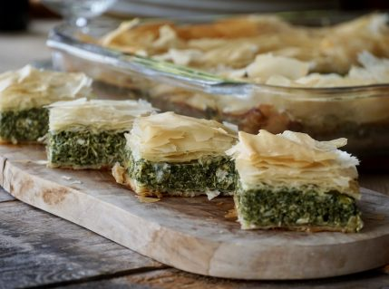 Spanakopita, Spinach and Feta Pie Recipe