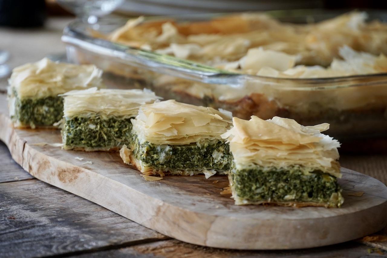 Spanakopita, Spinach and Feta Pie Recipe