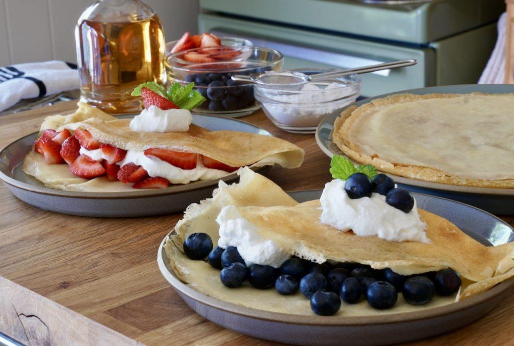 Gluten-free Swedish pancakes