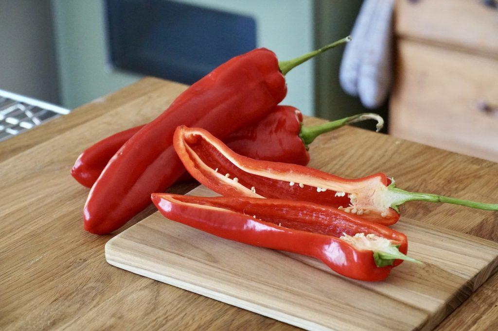 Sweet Ontario greenhouse peppers
