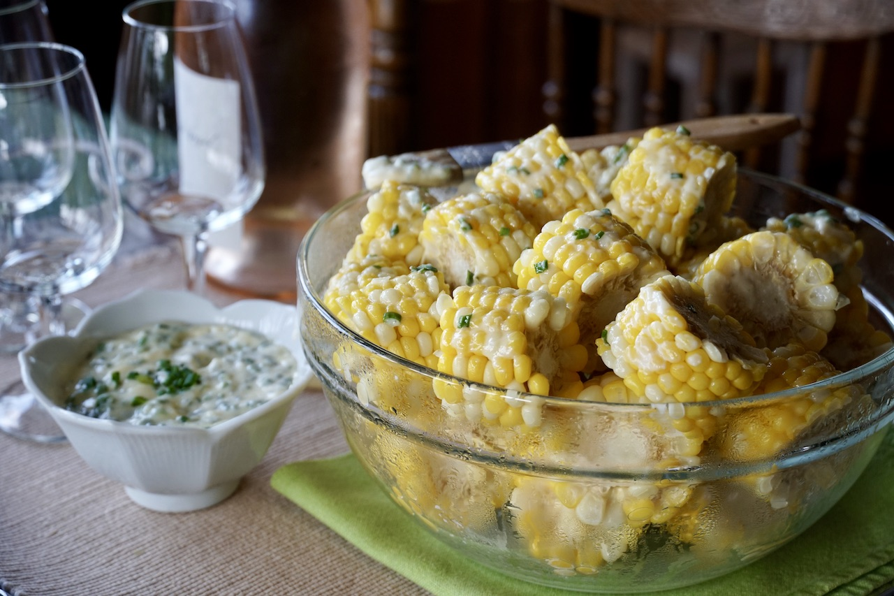 Butter-And-Milk-Boiled Corn