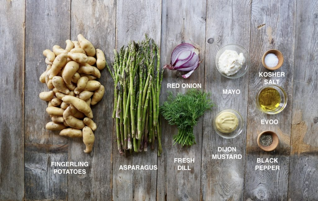 Ingredients for This Is Not Potato Salad