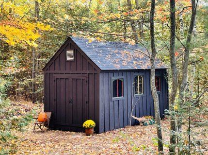 Let's build a storage shed - part five