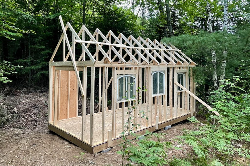 Let's Build A Storage Shed - PART THREE